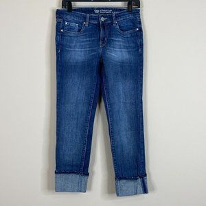 Gap Straight Cuff Denim Capris Size 2 / 26